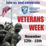 """Veterans Week is all about honoring these students and letting them know how much we appreciate their service,"" said Kevin Lyons, GFC MSU Veterans Success Coach."